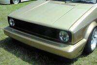 DEBADGED BLACK GRILL FOR VW GOLF MK1 17 4/74 - 12/85 & CABRIO 155 1/79 - 8/93