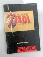 Zelda A Link To The Past SNES Instruction Manual Booklet NO Super Nintendo Game