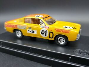 Trax TR11H 1971 Valiant Charger R/T Yellow Norm Beechey 41D 1:43 Scale Model