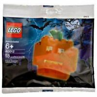 LEGO 40012 Rare Halloween Pumpkin Construction Set