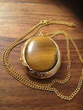 Brass Agate Costume Necklaces & Pendants