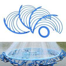 Pro Blue Cast Net Fishing Net Accessory Tool Aluminum Ring Catch Fishing Utensil