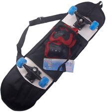 Professional Skateboard Bag Thicken Singe Shoulder Adjustable Cover Carry Solid