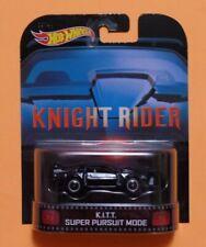 K.I.T.T. SUPER PURSUIT MODE Knight Rider - Hot Wheels Retro Entertainment KITT