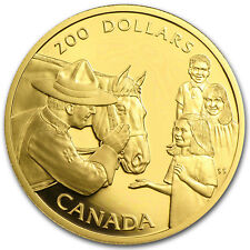 1993 Canada 1/2 oz Proof Gold $200 Mounted Police - SKU #31617