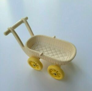 Vintage 1993 Fisher Price Loving Family Accessory Baby Stroller Carriage