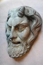 Greek Roman Theater Mask Satyr Copper Gothic Centaur Skull Rare Masonic Oddity
