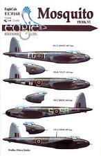 EagleCals Decals 1/48 DE HAVILLAND MOSQUITO FB.Mk.IV Fighter Bomber Part 1