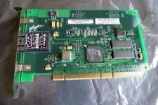 QLogic fc0310406-12 C Dual Fiber Channel Network Adapter PCI-X Scheda