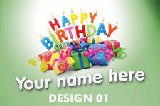 Kids / Children's Birthday Banners 3ft x 2ft PVC Banner Display Printed