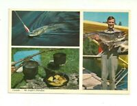 GREETING FROM LOON CABINS, LANIEL, QUEBEC, CANADA CHROME POSTCARD