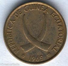 Republica Guinea Ecuatorial 25 Pesetas 1969 * 69