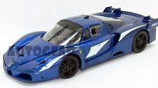 HotWheels Blue Ferrari FXX Evoluzione 1:18 Diecast Car