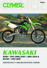 Kawasaki KX 80 W1 1998 (0080 CC) - Clymer Repair Manual