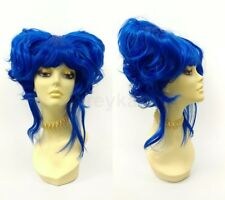 Petite Size Short Double Pouf Poof Wig Anime Cosplay Costume Beehive
