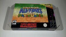Super Mario All Stars + Super Mario World - NTSC - Snes - Only Box