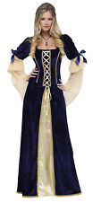 Maiden Faire Donna Adulti Rinascimento Costume Halloween