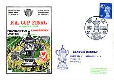 4 MAY 1974 FA CUP FINAL LIVERPOOL 3 v NEWCASTLE UNITED 0 COMMEMORATIVE COVER
