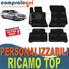 TAPPETINI per MERCEDES BENZ CLASSE E (S212) TAPPETI AUTO su MISURA + RICAMO TOP