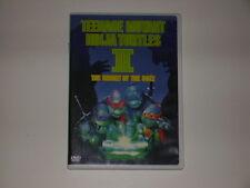 TEENAGE MUTANT NINJA TURTLES TMNT II 2 THE SECRET OF THE OOZE DVD PG MOVIE 1991