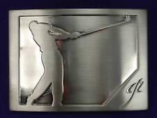 The Golfer Golf Belt Buckle