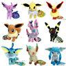 9X Pokemon Plush Eevee Sylveon Espeon Vaporeon Umbreon Glaceon Jolteon Toy Etc