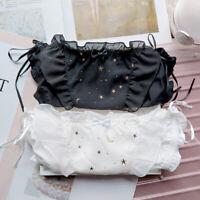 New Japanese Sweet Bowknot Womens Lolita Girl Low waist Panties Underwear Briefs