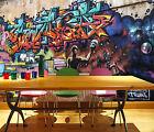 3D Graffiti, Superman Wall Paper Wall Print Decal Wall Deco Indoor wall Murals