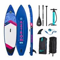 """Aztron TERRA Inflatable SUP Touring 10'6"""" Double Chamber, Double Layer"""