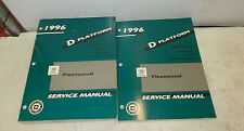 1996 CADILLAC FLEETWOOD D PLATFORM BOOK 1&2 INCLUDES ENGINE & TRANSMISSION