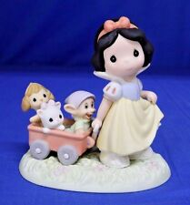 Snow White Heigh Ho Its Off To Play We Go Figurine 2008 Disney Precious Moments