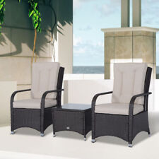 Outsunny Rattan Up to 2 Seats Garden & Patio Furniture Sets