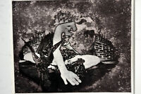 """14"""" Vintage Artist Proof Print Etching Signed Jaime Hennon Abstract Woman Nude"""
