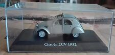 "DIE CAST "" CITROEN 2CV - 1952 "" SCALA 1/43 ATLAS EDITION"