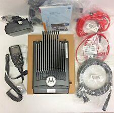 New listing New Motorola Xtl 5000 Vhf Radio M20Kts9Pw1An 25-110 Watt Bundle O3 Control Head