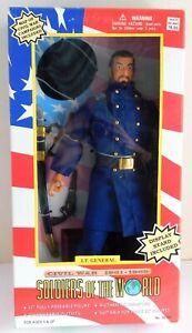 """Soldiers of the World, Civil War LT. General 12"""" Figure NIB"""