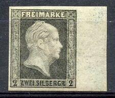 GERMANY PRUSSIA  SC#4 FOUR MARGIN SUPERB  MINT HINGED FULL ORIGINAL GUM