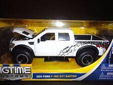 Jada Ford F150 SVT Raptor 2011 White 1/24