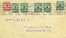 Firmenbrief MiF Inflation Römer & Co. Dusemond Büro Berlin nach Frankfurt 1923
