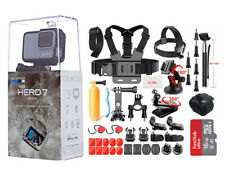 NEW SEALED GoPro HERO7 White HD Waterproof Action Camera CHDHB601 Sports Bundle