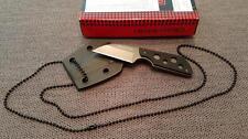 RUI Neck Knife Messer Taschenmesser Survival 440er Klinge Titanium -NEU 31848
