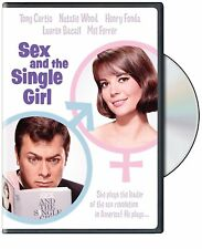 NEW DVD - SEX and the SINGLE GIRL - Tony Curtis, Natalie Wood, Henry Fonda,