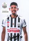 AK Andres Andrade LASK Linz 20-21 Panama Wolfsberger AC WAC Toluca FC Queretaro
