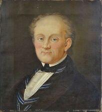 Originale künstlerische Malerein auf Leinwand im Biedermeier -