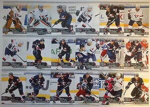 2015-16 KHL SeReal trading cards collection 8 season Slovan Bratislava 18 cards