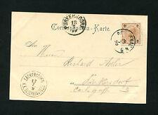 """Österreich - Postablage 1899 """"Lackerboden-K.K. Telephonstelle""""   (#693)"""