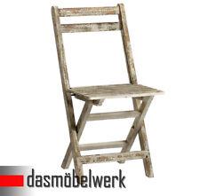 Klappstuhl Stuhl Deko Sitzmöbel klappbar Shabby Chic Design landhaus 13.170.02