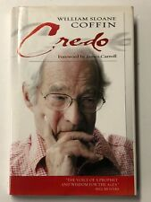 Credo by William Sloane Coffin (2004, Hardcover) SIGNED IN KOREAN