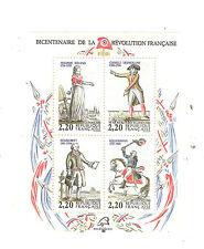 Bloc France 1989 Révolution Yvert bloc n° 10 neuf ** 1er choix