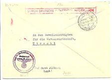 NEDERLAND 1944-7-22  DDP UTRECHT LOKAAL   @6